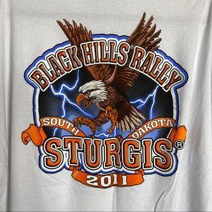 Sturgis Graphic Tee Black Hills Rally T-Shirt 4XL